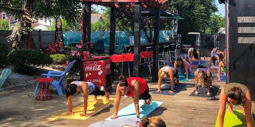 Final Patio Yoga: All Levels Vinyasa Flow