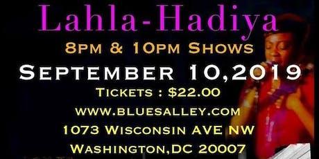 R&B/ Neo-Soul Recording Artist Lahla-Hadiya tickets