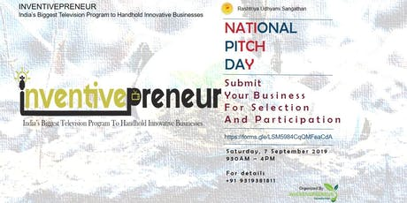 National Pitch Day tickets