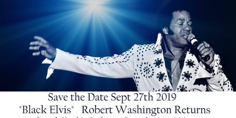 Robert Washington as James Brown & Black Elvis tickets