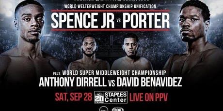 Pool Party/Fight Night: Spencer Jr vs Porter tickets