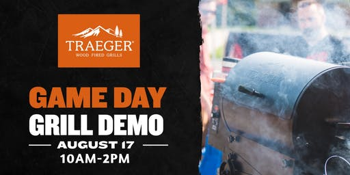 Game Day Traeger Demo