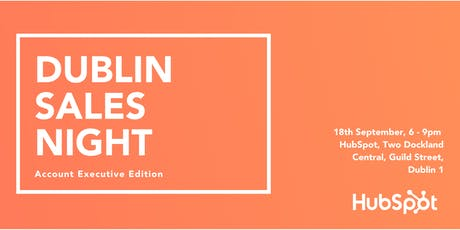 Dublin Sales Night: Account Executive Edition tickets