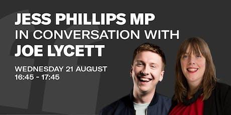 EDTV Fest19: Joe Lycett in Conversation with Jess Phillips MP tickets