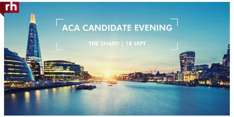 ACA Candidate Networking Evening tickets