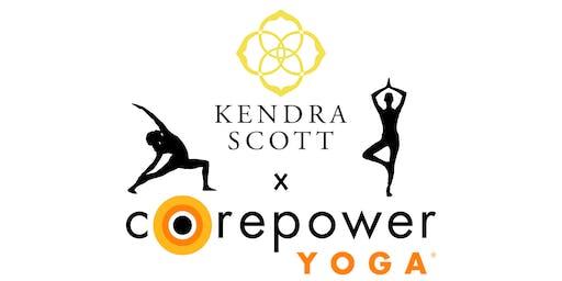 Kendra Scott x CorePower Yoga Class