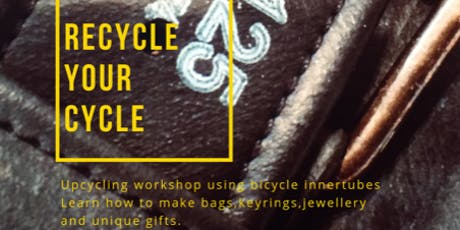 Recycle your cycle! Make your own Eco Conscious Christmas Gifts tickets