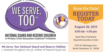 We Serve, TOO  National Guard and Reserve Children