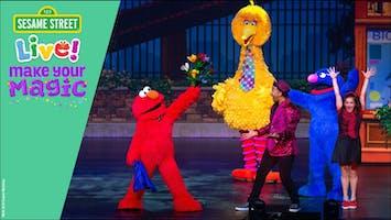 """Sesame Street Live! Make Your Magic"""