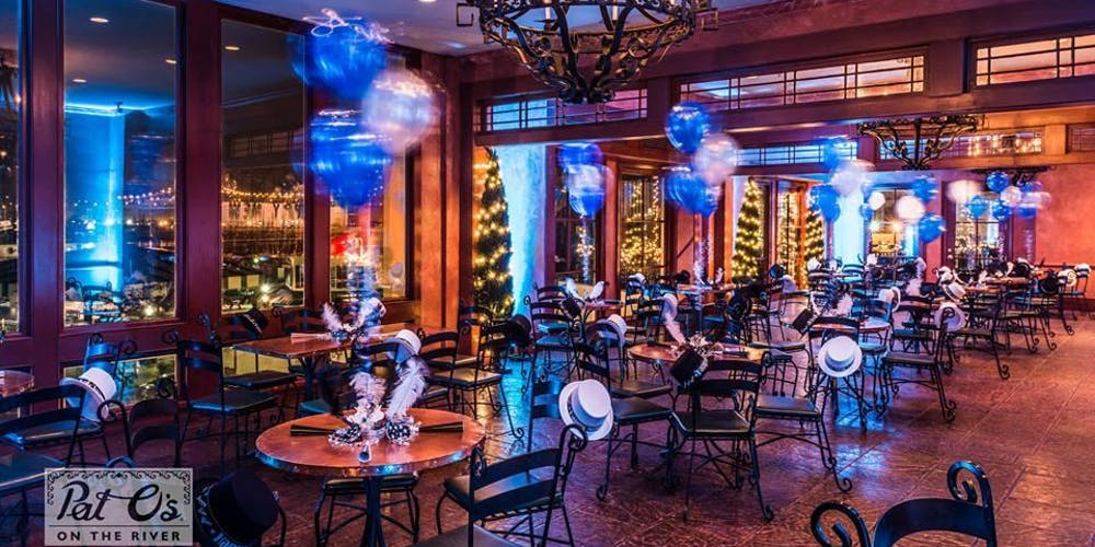 Best Restaurants In New Orleans 2020.Pat O S On The River New Year S Eve Extravaganza 2020