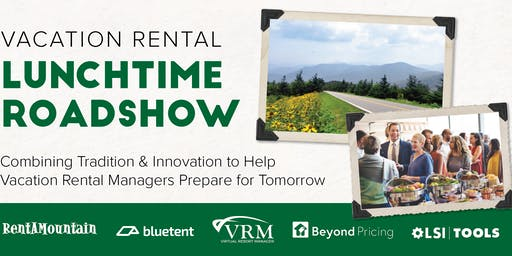 Vacation Rental Lunchtime Roadshow - Asheville - September 2019