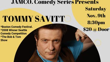 Tommy Savitt Headlines JAMCO Comedy Series