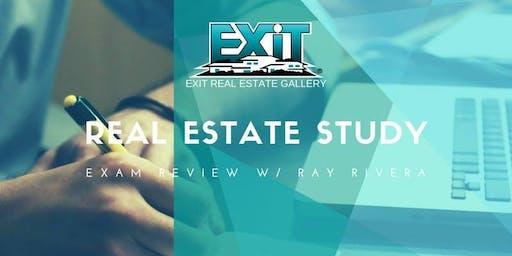 Real Estate Study Exam Review - November