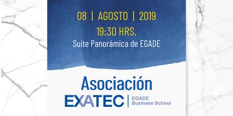 Coctel Asociaciones EXATEC tickets