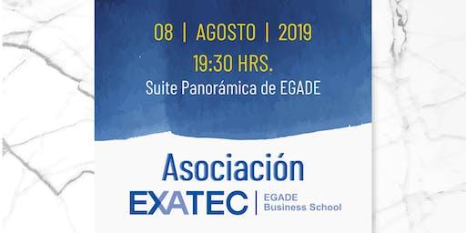 Coctel Asociaciones EXATEC