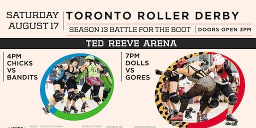 2019 Toronto Roller Derby Season XIII Championships