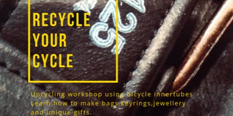 Recycle your cycle! Make your own Last Minute Eco Conscious Christmas Gifts tickets