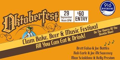 Oktoberfest - Clam Bake, Beer, & Music Festival