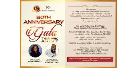 Mount Vernon SDA Church 80th Anniversary Gala tickets