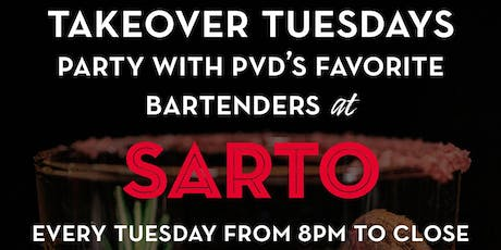 Takeover Tuesdays w/ PVD's Favorite Bartenders tickets