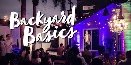 Backyard Basics FREE comedy showcase under the stars in Venice yard tickets