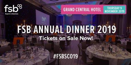 FSB Scotland Annual Dinner 2019 tickets