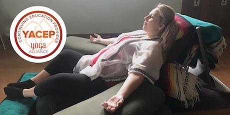 "Yoga Nidra - Yogic ""Sleep: and Deep Relaxation with Diane Speer tickets"