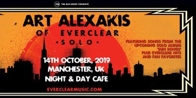 Art Alexakis (Night and Day, Manchester)