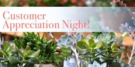 Customer Appreciation Night! tickets