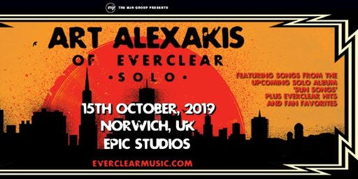 Art Alexakis (Epic TV Studios, Norwich)