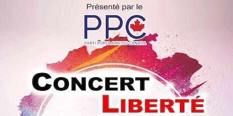 CONCERT LIBERTÉ / FREEDOM CONCERT tickets