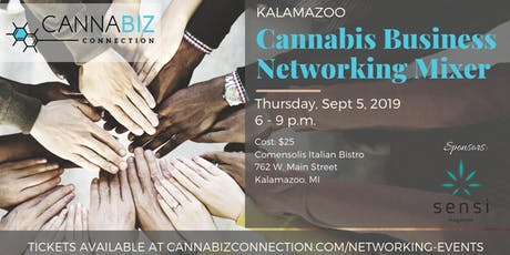 Kalamazoo Cannabiz Connection Networking Mixer tickets