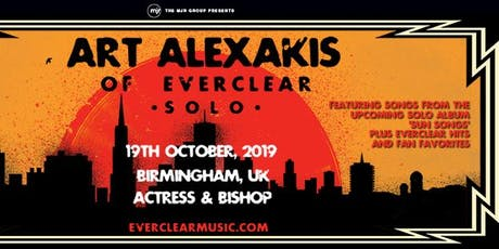 Art Alexakis (Actress & Bishop, Birmingham) tickets
