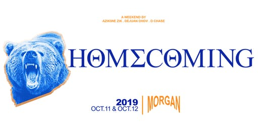 MORGAN HOMECOMING 2019