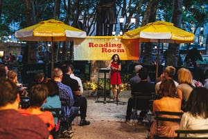 Bryant Park Poetry: Four Way Books [Live Poetry Reading]