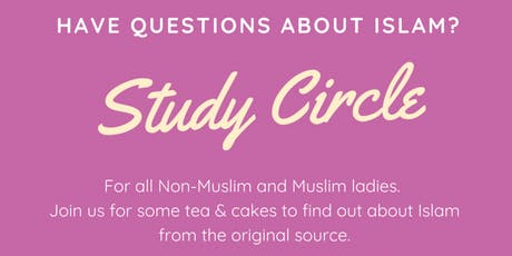 Have questions about Islam? tickets