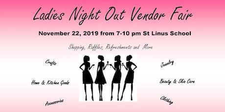 St Linus Ladies Night Out Vendor Fair tickets