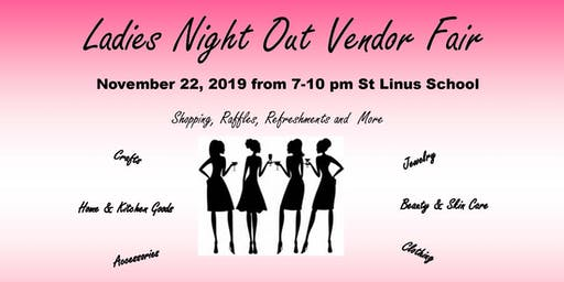 St Linus Ladies Night Out Vendor Fair
