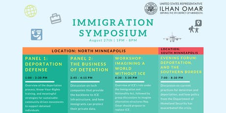 Immigration Symposium: Detention, Deportation, and the Southern Border biglietti