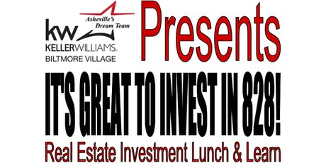 It's Great to Invest in 828! FREE Realtor Lunch & Learn Event tickets