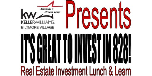It's Great to Invest in 828! FREE Realtor Lunch & Learn Event