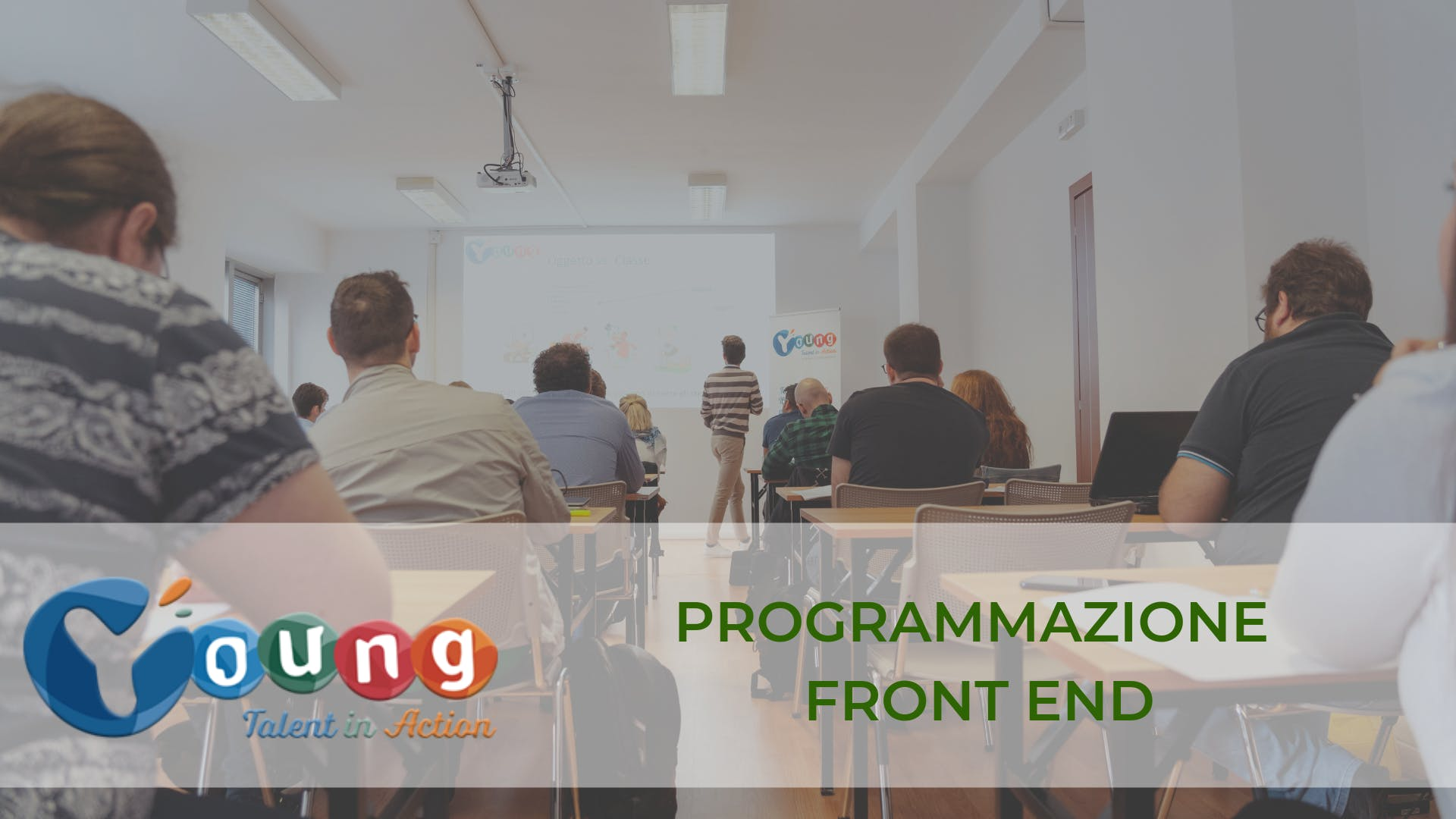 Corso gratuito di Coding Front end: Javascript & React | Young Talent in Action 2019 | Catania