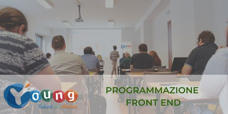 Corso gratuito di Coding Front end: Javascript & React | Young Talent in Action 2019 | Catania biglietti