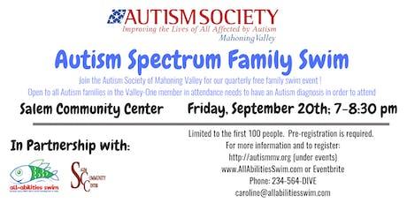 ASMV (Autism) Family Swim: Columbiana County tickets