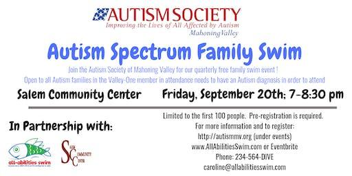 ASMV (Autism) Family Swim: Columbiana County