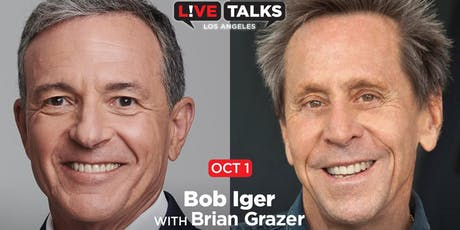 Bob Iger in conversation with Brian Grazer tickets