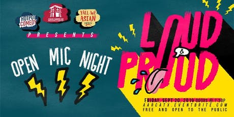 Loud and Proud Open Mic Night: September tickets