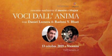 Eco dall'Anima - concerto Daniel Lumera e Rashmi Batt a Vicenza biglietti