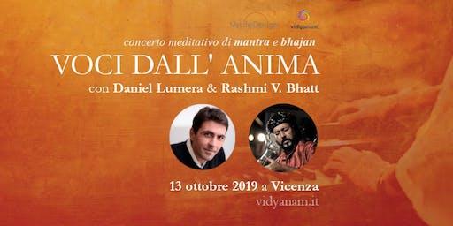 Eco dall'Anima - concerto Daniel Lumera e Rashmi Batt a Vicenza