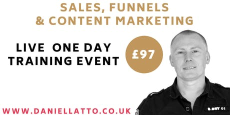 Sales, Content & Marketing Funnels with Daniel Latto tickets